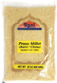 Rani Proso Millet (Panicum Millaceum) Whole Ancient Grain Seeds 28oz (800g) ~ All Natural | Gluten Free Ingredients | NON-GMO | Vegan | Indian Origin | Barri / Chena / Variga / Baragu