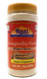 Rani Ashwagandha Root (Winter Cherry) Powder 6oz (172g) ~ All Natural, Salt-Free | Vegan | No Colors | Gluten Free Ingredients | NON-GMO | Indian Origin - Withania Somnifera