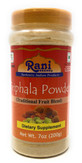 Rani Triphla Powder (Chebulic Myrobalan, Gooseberry, Terminalia Bellirica) 7oz (200g) ~ All Natural | Vegan | NON-GMO | Indian Origin | Dietary Supplement