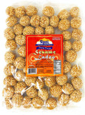Rani Sesame Ladoo (Round Peanut Brittle Candy) 14oz (400g) ~ All Natural | Vegan | No colors | Gluten Free Ingredients | Indian Origin
