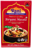 Rani Biryani Masala Curry (7-Spice Blend for Indian Rice Dishes) 1.75oz (50g) ~ All Natural | Vegan | No Colors | Gluten Friendly Ingredients | NON-GMO | Indian Origin