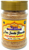 Rani Flax Seeds 2.6oz (75g) ~ Powder~ All Natural | Vegan | Gluten Free Ingredients | NON-GMO | Indian Origin