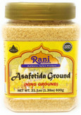 Rani Asafetida (Hing) Ground 21oz (600g) Over 1 Pound Bulk Pack ~ All Natural | Salt Free | Vegan | NON-GMO | Asafoetida Indian Spice | Best for Onion Garlic Substitute
