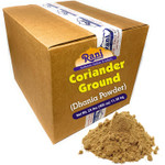Rani Coriander Ground Powder (Indian Dhania) Spice 25-Pound (400 Ounce) 11.36kg ~ Bulk Box ~ All Natural, Salt-Free | Vegan | No Colors | Gluten Friendly Ingredients | NON-GMO | Indian Origin