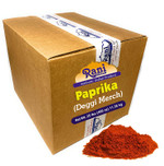 Rani Paprika (Deggi Mirch) Spice Powder, Ground 25 Pound (400 Ounce) 11.36kg ~ Bulk Box ~ All Natural, Salt-Free | Vegan | No Colors | Gluten Free Ingredients | NON-GMO | Indian Origin