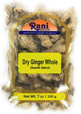 Rani Ginger (Adarak Sabut) Whole Indian Spice 7oz (200g)
