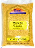 Rani Moong Dal (Split Mung Beans ) Lentils Indian 8lb (128oz) ~ All Natural | Gluten Free Ingredients | NON-GMO | Vegan…