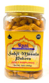 Rani Sabji Pakora 14oz (400g) PET Jar ~ Masala, Gluten Friendly ~ All Natural | Vegan | No Preservatives | No Colors | Indian Origin