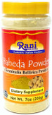 Rani Baheda (Terminalia Bellirica) Powder 7oz (200g) ~ Natural, Vegan | No Colors | Gluten Free | NON-GMO | Indian Origin