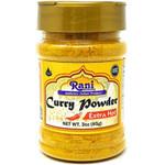 Rani Curry Powder EXTRA HOT Natural 11-Spice Blend 3oz (85g) PET Jar ~ Salt Free | Vegan | Gluten Friendly | NON-GMO