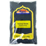 Rani Kalonji (Black Seed, Nigella Sativa, Black Cumin) Seeds 14oz (400g) All Natural ~ Gluten Friendly | NON-GMO | Vegan | Indian Origin
