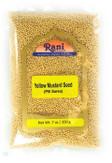 Rani Yellow Mustard Seeds Whole Spice 7oz (200g) ~ All Natural | Vegan | Gluten Friendly | NON-GMO | Indian Origin