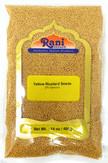 Rani Yellow Mustard Seeds Whole Spice 14oz (400g) ~ All Natural | Vegan | Gluten Friendly | NON-GMO | Indian Origin