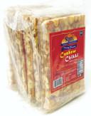 Rani Cashew Chikki (Brittle Candy) 3.5oz (100g) x Pack of 10 ~ All Natural | Vegan | No colors | Gluten Friendly | Indian Origin