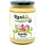 Rani Organic Garlic Cooking Paste 26.5oz (750g) ~ Vegan | Glass Jar | Gluten Free | NON-GMO | No Colors | Indian Origin | USDA Certified Organic