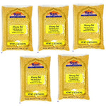 Rani Moong Dal (Split Mung Beans without skin) Lentils Indian 8lb (128oz) Pack of 5 (Total 40lbs) Bulk ~ All Natural | Gluten Friendly | NON-GMO | Vegan
