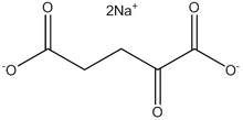 a-Ketoglutaric acid disodium salt anhydrous