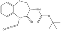 (R)-3-Boc-amino-5-(carbonylmethyl)-2,3-dihydro-1,5-benzothiazepin-4(5H)-one