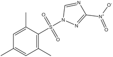 1-(Mesitylene-2-sulfonyl)-3-nitro-1H-1,2,4-triazole