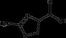 2-Amino-2-thiazoline-4-carboxylic acid