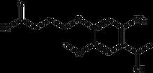 4-(4-(1-Hydroxyethyl)-2-methoxy-5-nitrophenoxy)butyric acid