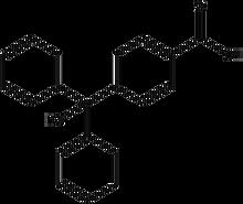 4-(Diphenylhydroxymethyl)benzoic acid