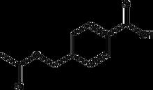 4-Acetoxymethylbenzoic acid