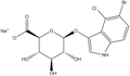 5-Bromo-4-chloro-3-indolyl-b-D-glucuronide sodium salt