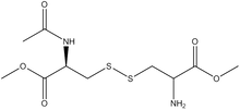 Acetyl-L-cystine bis-methyl ester