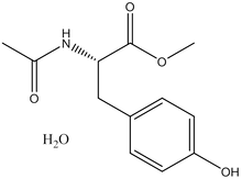 Acetyl-L-tyrosine methyl ester hydrate
