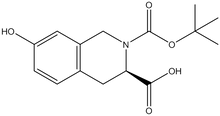 Boc-(3R)-1,2,3,4-tetrahydroisoquinoline-7-hydroxy-3-carboxylic acid