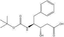 Boc-(3S,4S)-4-amino-3-hydroxy-5-phenylpentanoic acid