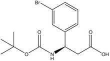 Boc-(R)-3-amino-3-(3-bromophenyl)propionic acid