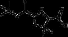 Boc-(R)-5,5-dimethyl-1,3-thiazolidine-4-carboxylic acid