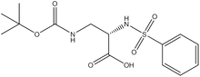 Boc-(S)-3-amino-2-(phenylsulfonylamino)propionic acid