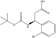 Boc-(S)-3-amino-3-(2-bromophenyl)propionic acid
