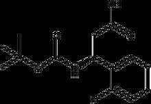 Boc-(S)-3-amino-3-(2-fluorophenyl)propionic acid