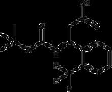 Boc-(S)-3-amino-3-(2-trifluoromethylphenyl)propionic acid