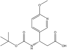 Boc-(S)-3-amino-3-(6-methoxy-3-pyridyl)propionic acid