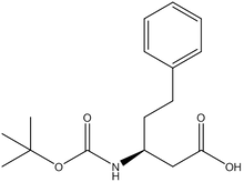 Boc-(S)-3-amino-5-phenylpentanoic acid