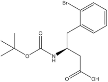 Boc-2-bromo-D-b-homophenylalanine