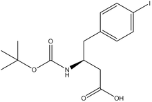 Boc-4-iodo-D-b-homophenylalanine