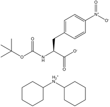 Boc-4-nitro-L-phenylalanine dicyclohexylammonium salt