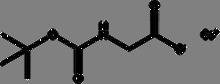 Boc-glycine cesium salt