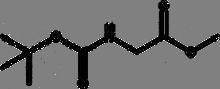 Boc-glycine methyl ester