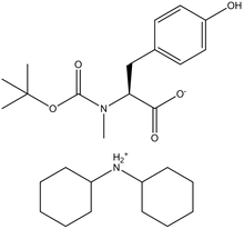 Boc-N-methyl-L-tyrosine dicyclohexylammonium salt