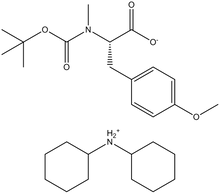 Boc-N-methyl-O-methyl-L-tyrosine dicyclohexylammonium salt