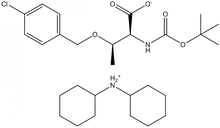 Boc-O-4-chlorobenzyl-L-threonine dicyclohexylammonium salt
