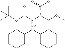 Boc-O-methyl-L-serine dicyclohexylammonium salt
