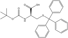 Boc-S-trityl-D-cysteine